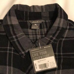 Eddie Bauer Tops - Women's Eddie Bauer flannel shirt size medium.